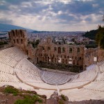 Greece Odeon of Herodes Atticus