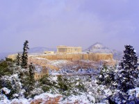 Greek Winter ©RobW_/flickr