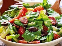 Greek Salad ©sweetvalleyherbs