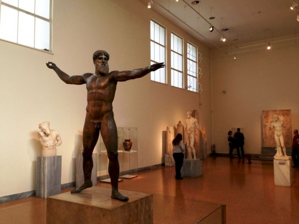 The Artemision Bronze Statue