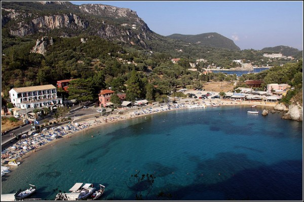 The resort of Paleokastritsa