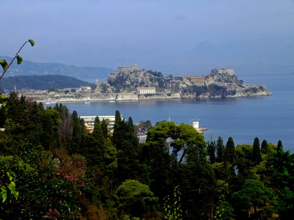View of the Old Fort in Corfu
