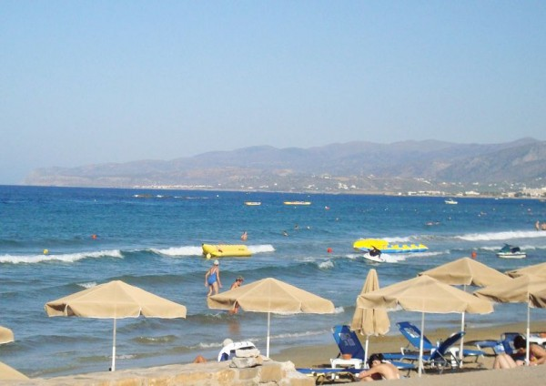 The beach of Stalis