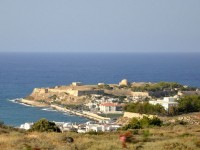 The city of Rethymno in Crete