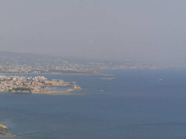 The surroundings of Chania