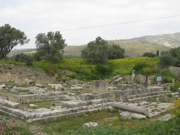 Remains of Gortyna in Crete