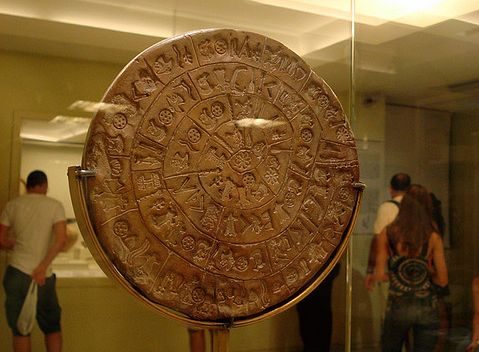 The Disc of Phaistos