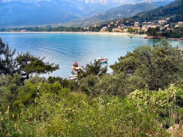 The Golden Beach at Thassos