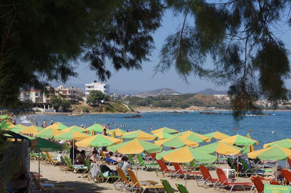 Beach in Chania