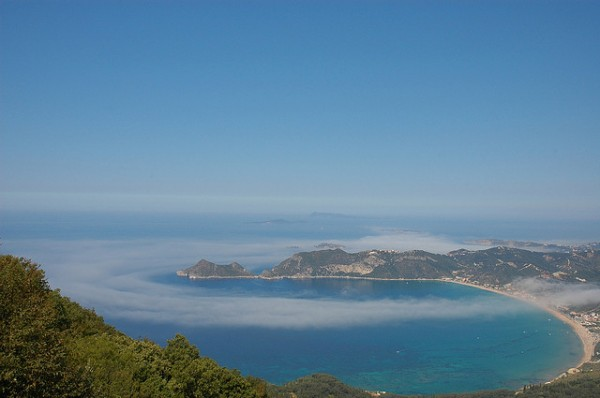 The Agios Georgios Bay