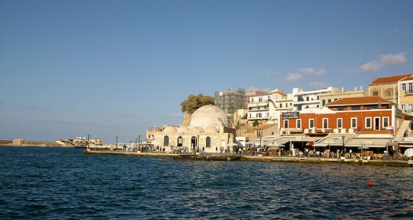 The port of Chania