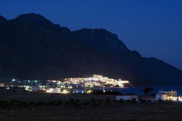 Island of Kos at night