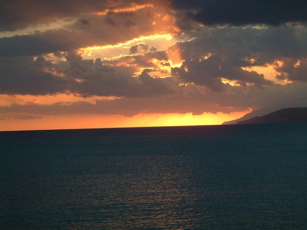 Southern Sunset in Ierapetra