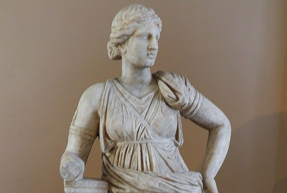 Statue of Artemis from Mytilene, Lesbos