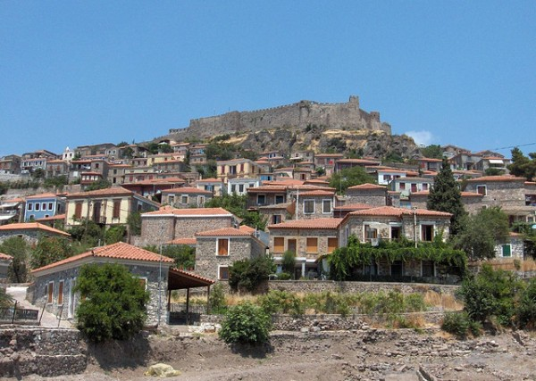 The Fortress of the Lesbos Island