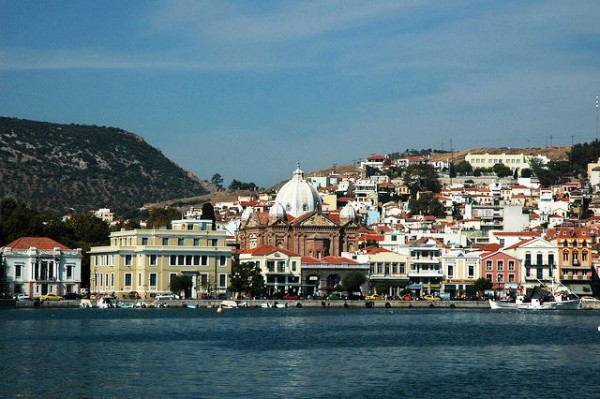 The Island of Lesbos in Greece
