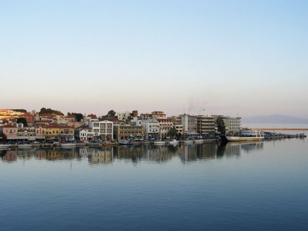 The city of Mytilene