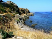The Mytilini Fortress on the Lesbos Island