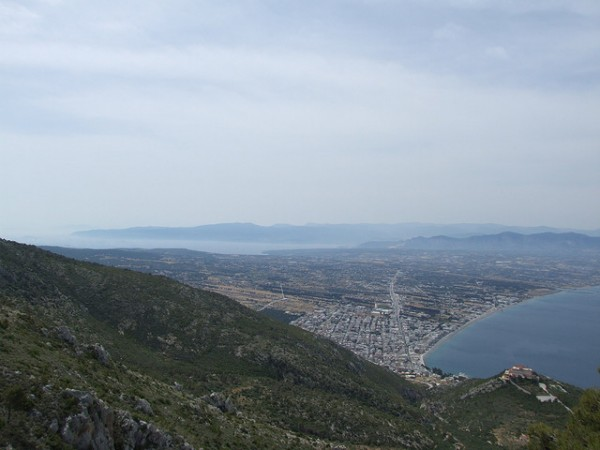 View from the Monastery of Saint Patapios