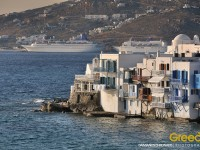Little Venice in the Mykonos Island