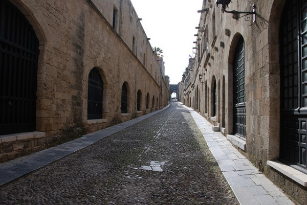 The Street of Knights in Rhodes