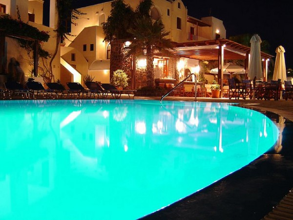 Hotel in Akrotiri on the Island of Santorini