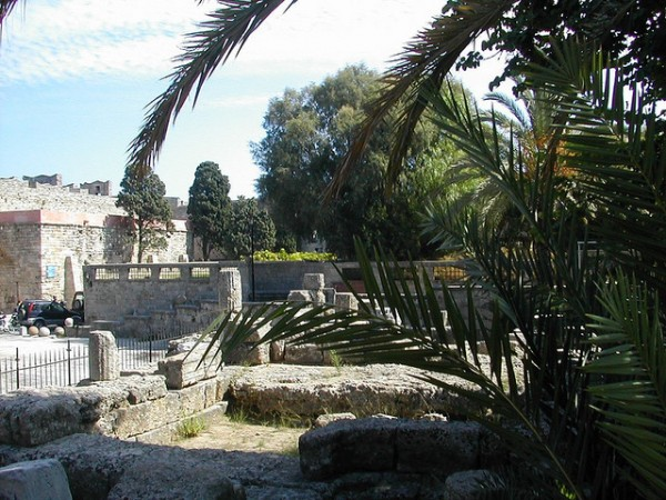 Temple of Aphrodite in Rhodes