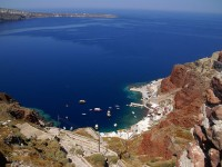 The Caldera of the Island of Santorini