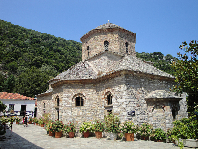 Awesome Top 3 Religious Buildings In Skiathos. The Church At The Monastery Of  Evangelistria Pictures Gallery
