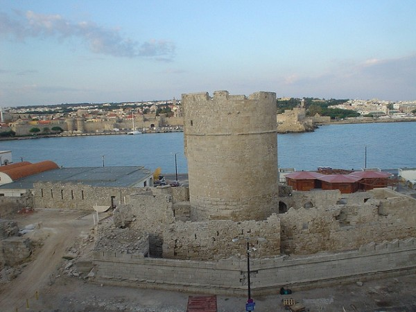The city of Rhodes