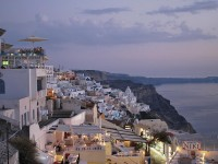 Tourist guide to the Greek Island of Santorini