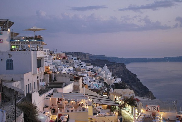 Thira in Santorini