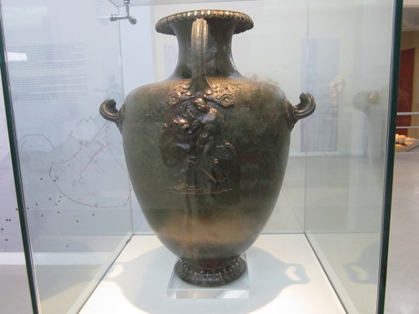Inside the Archeological Museum in Thassos
