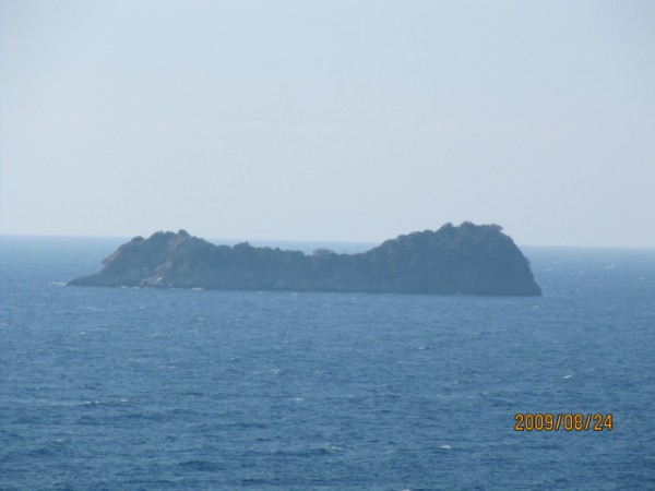 The island off Skala Potamias in Thassos