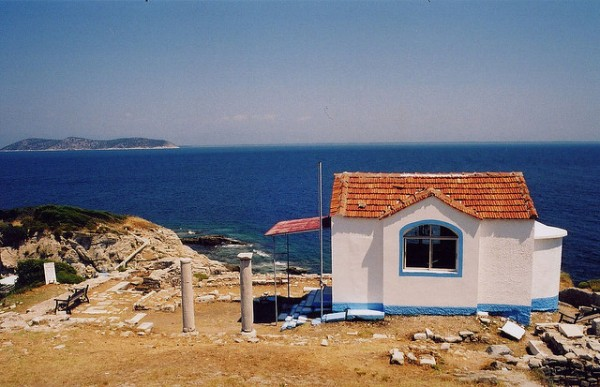 Cape Evreokastro in Thassos