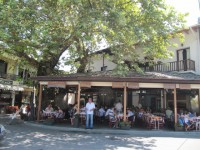 The Prinos Street Market and the Monastery of Archangel Michael in Thassos