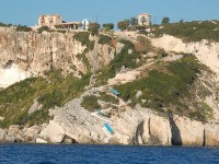 The Skinari Cape and the Blue Caves of Zakynthos
